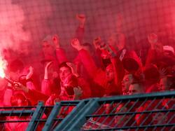 Durch Fans von Union Berlin kam es zu Ausschreitungen