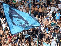 Diego Maradona genießt in Neapel weiterhin absoluten Kultstatus