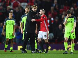 Liverpools Teammanager Jürgen Klopp musste sich am Ende mit einem Remis begnügen