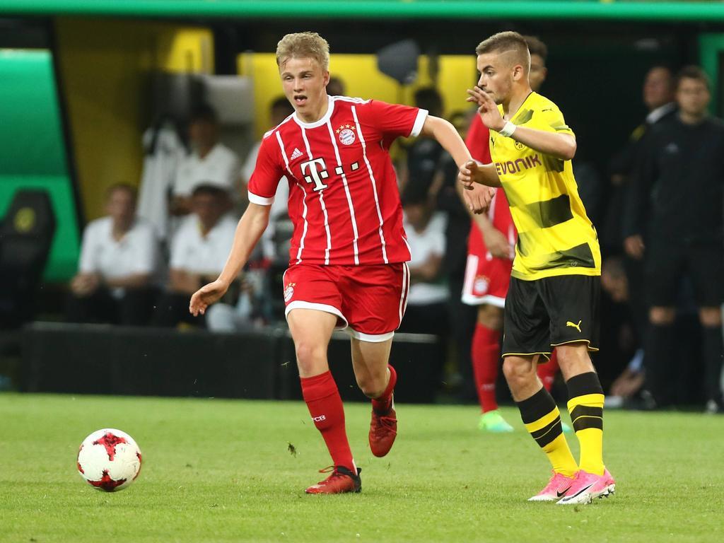 Felix Götze (l.) bekommt beim FC Bayern seinen ersten Profi-Vertrag