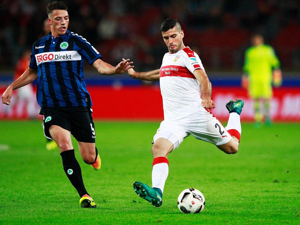 Fehlt dem VfB Stuttgart längere Zeit: Emiliano Insúa