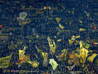 Die Fans von Borussia Dortmund protestieren gegen Eintrittspreise in Stuttgart