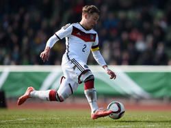 Felix Passlack im Dress des deutschen U-17-Nationalteams
