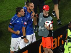 Mattia de Sciglio (l.) war auch bei der EM für Italien aktiv