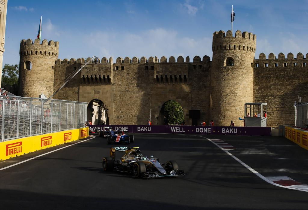 Rückblick: Rosberg der erste Sieger