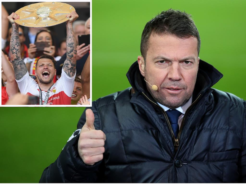Lothar Matthäus hält viel von VfB-Angreifer Daniel Ginczek