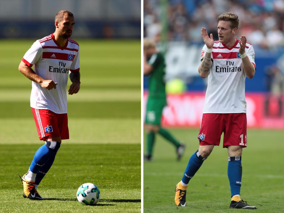 HSV: Top-Abgang: Pierre-Michel Lasogga; Top-Zugang: André Hahn