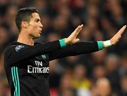 Lässt sich nicht nervös machen: Cristiano Ronaldo