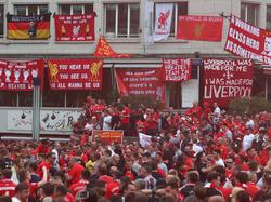 Basel ist fest in der Hand der Liverpool-Fans