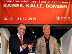 """""""Kaiser""""? Beckenbauer (r.) soll den Titel abgeben"""