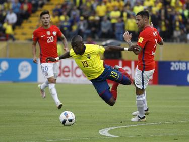 Enner Valencia sorgte für Aufsehen