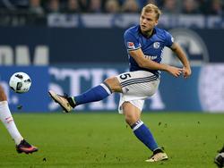 Geis ist beim FC Schalke 04 der Mittelfeldabräumer