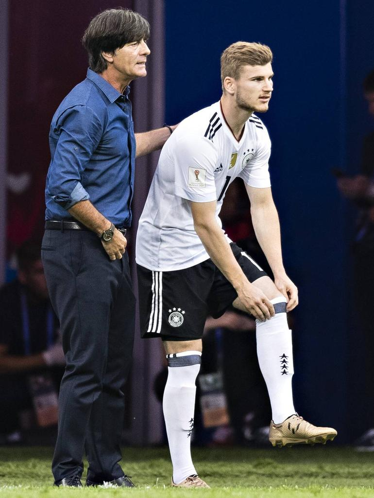 Timo Werner - (ab 58. Minute) - Note 3
