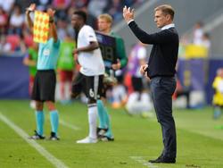 Stefan Kuntz peilt den zweiten Sieg an