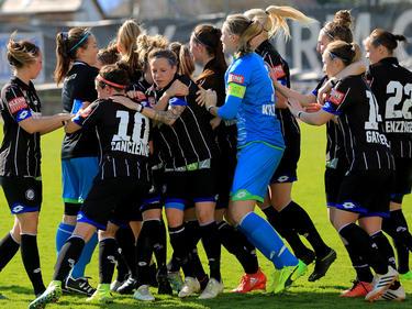 Sturms Frauen-Team hat sich bereits als Bundesligist etabliert