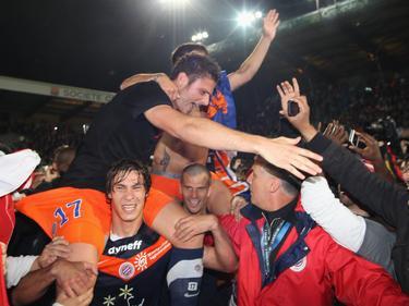 Olivier Giroud zählte 2012 zu den Meisterhelden von Montpellier