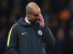 Pep Guardiola sieht die großen Erwartungen an ihn als ein mögliches Problem