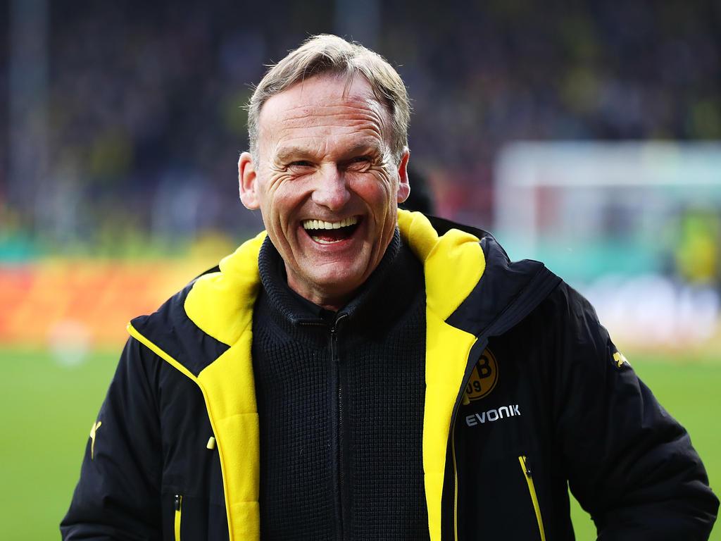 Hans-Joachim Watzke glaubt kaum, dass Heidel Schalke zum Titel führt