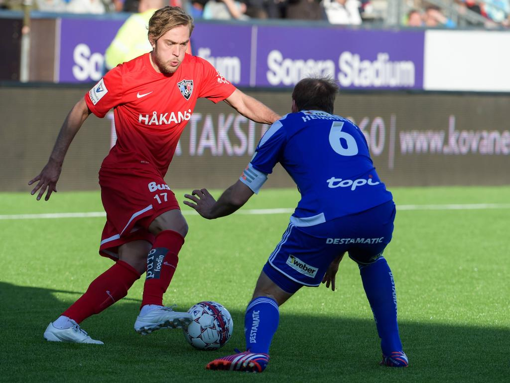 Mika Ojala (l.) wechselt zum VfR Aalen