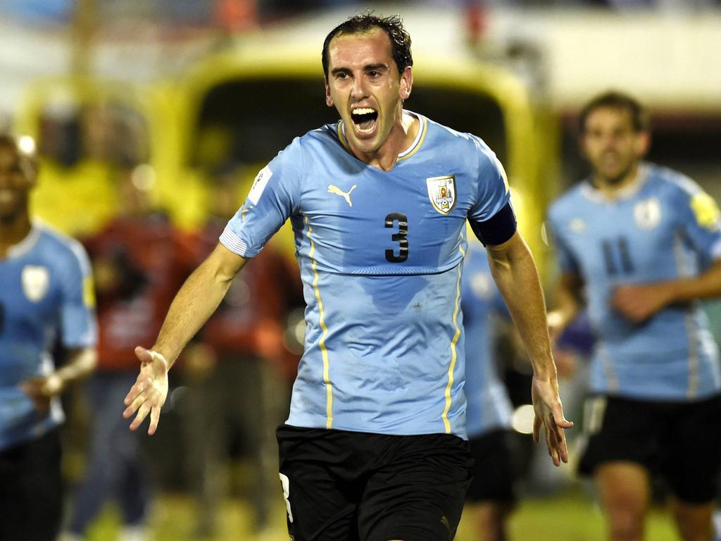 Imagen de archivo de Godín con Uruguay. (Foto: Imago)