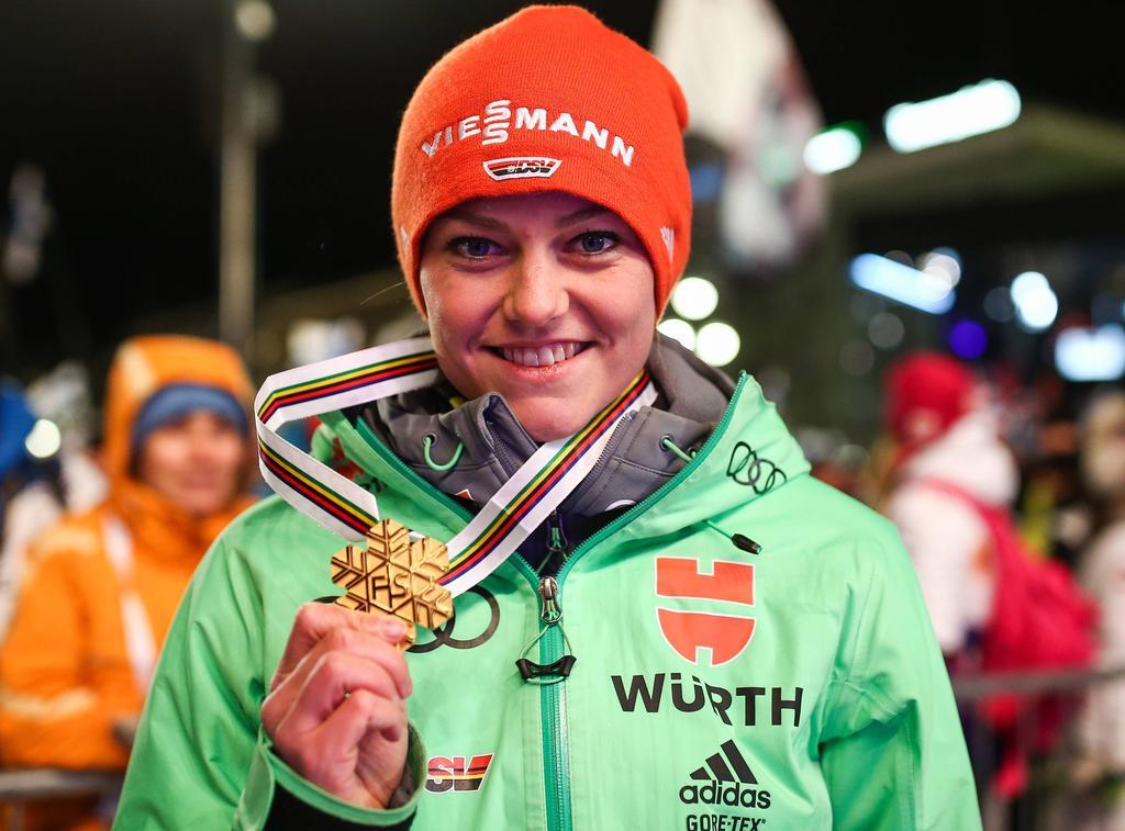 Platz 5: Carina Vogt (Skispringen)