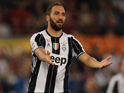 Gonzalo Higuaín und Juventus müssen die Titel-Feier verschieben