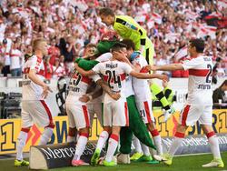 El Stuttgart se coronó campeón de Segunda alemana este domingo. (Foto: Getty)