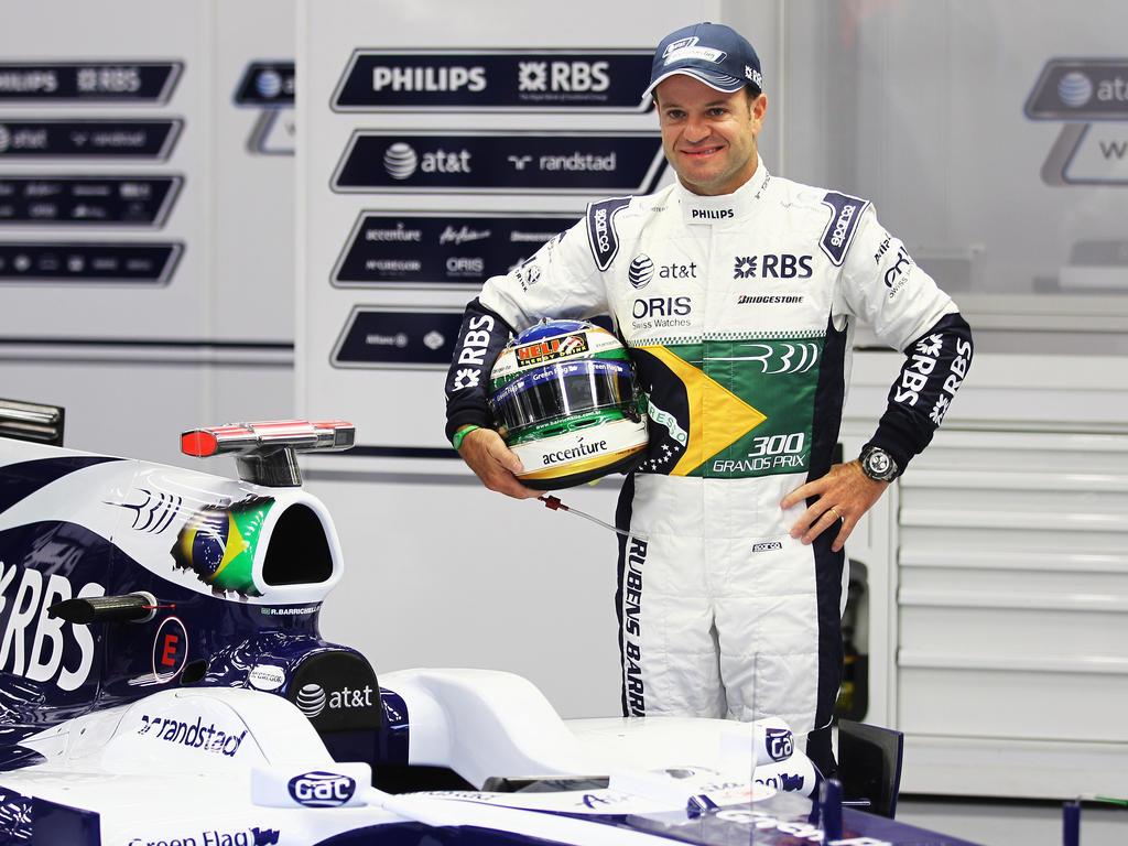 Rubens Barrichello - 322 Starts