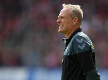 Christian Streich spielte mit dem SC Freiburg 1:1 gegen die Hertha