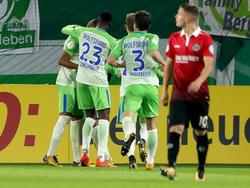 Der VfL Wolfsburg hat das Duell gegen Hannover 96 für sich entschieden
