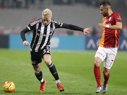 Andreas Beck (l.) hat einen guten Start in Istanbul hingelegt