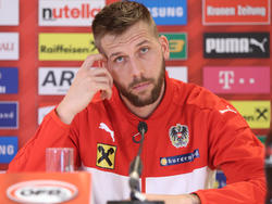 Guido Burgstaller geht die neue Chance im ÖFB-Team relaxt an