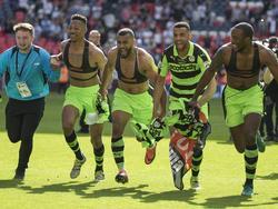 Das Team der Forest Green Rovers stieg 2017 in die vierte englische Liga auf