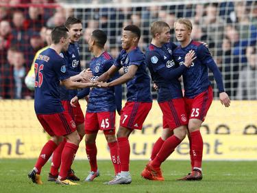 Jubel bei Ajax nach dem klaren Sieg