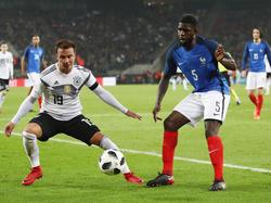 Mario Götze überzeugte als Joker gegen Frankreich