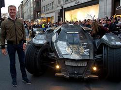 Coulthard und seine Rennmaschine