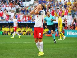 Der polnische Bayern-Stürmer Robert Lewandowski ist bei dieser EM noch torlos