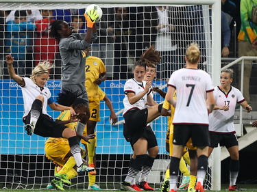 Alemania dominó a las africanas durante 90 minutos. (Foto: Getty)