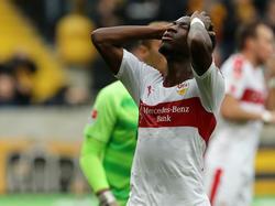 Carlos Mané und der VfB blamierten sich in Dresden