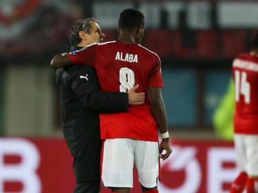 ÖFB-Teamchef Marcel Koller lässt David Alaba gegen die Slowakei zu Beginn auf der Bank