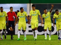 Atlético Nacional aún no estrenó su casillero en Libertadores. (Foto: Getty)