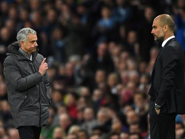Mourinho y Pep Guardiola (Foto: Getty)