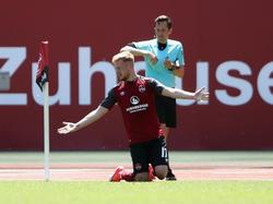 Sebastian Kerk wird dem 1. FC Nürnberg mehrere Monate fehlen