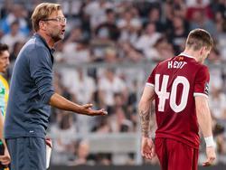 Tipp vom Boss: Jürgen Klopp riet Ryan Kent zum Wechsel in die Bundesliga