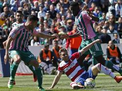 Betis Sevilla punktete mit einem 2:0-Sieg für den Klassenerhalt