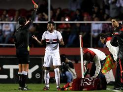 Michel Bastos sieht gegen Flamengo bereits seine zweite Rote Karte in sechs Spielen