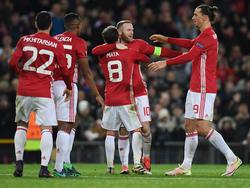 Rot-Weiße Party in Old Trafford: Manchester United zerlegt Feyenoord