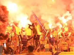Die Fans von Brøndby IF sind bekannt für ihre Pyro-Shows