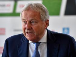ÖFB-Präsident Leo Windtner blickt in eine gesicherte Zukunft