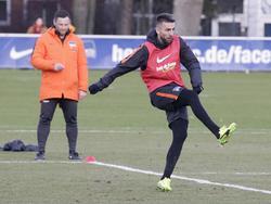 Vedad Ibišević (r.) kann wieder für die Hertha auf Torejagd gehen